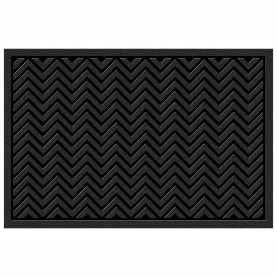Mohawk Home Utility Bay Gray Rectangular Door Mat (Common 2-ft x 3  sc 1 st  Lowe\u0027s & Shop Mohawk Home Utility Bay Gray Rectangular Door Mat (Common: 2-ft ...