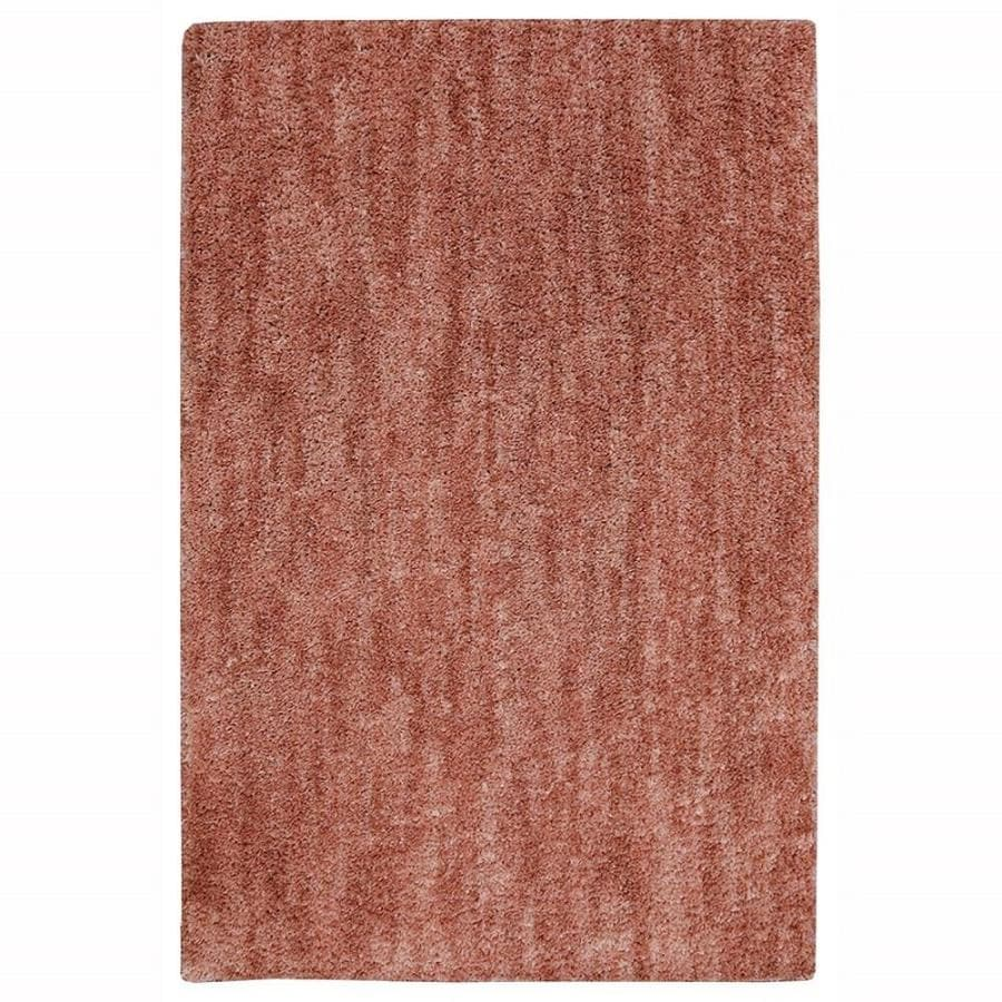 allen + roth Taney Coral Rectangular Indoor Machine-Made Distressed Area Rug (Common: 5 x 8; Actual: 5-ft W x 8-ft L x 0.5-ft dia)