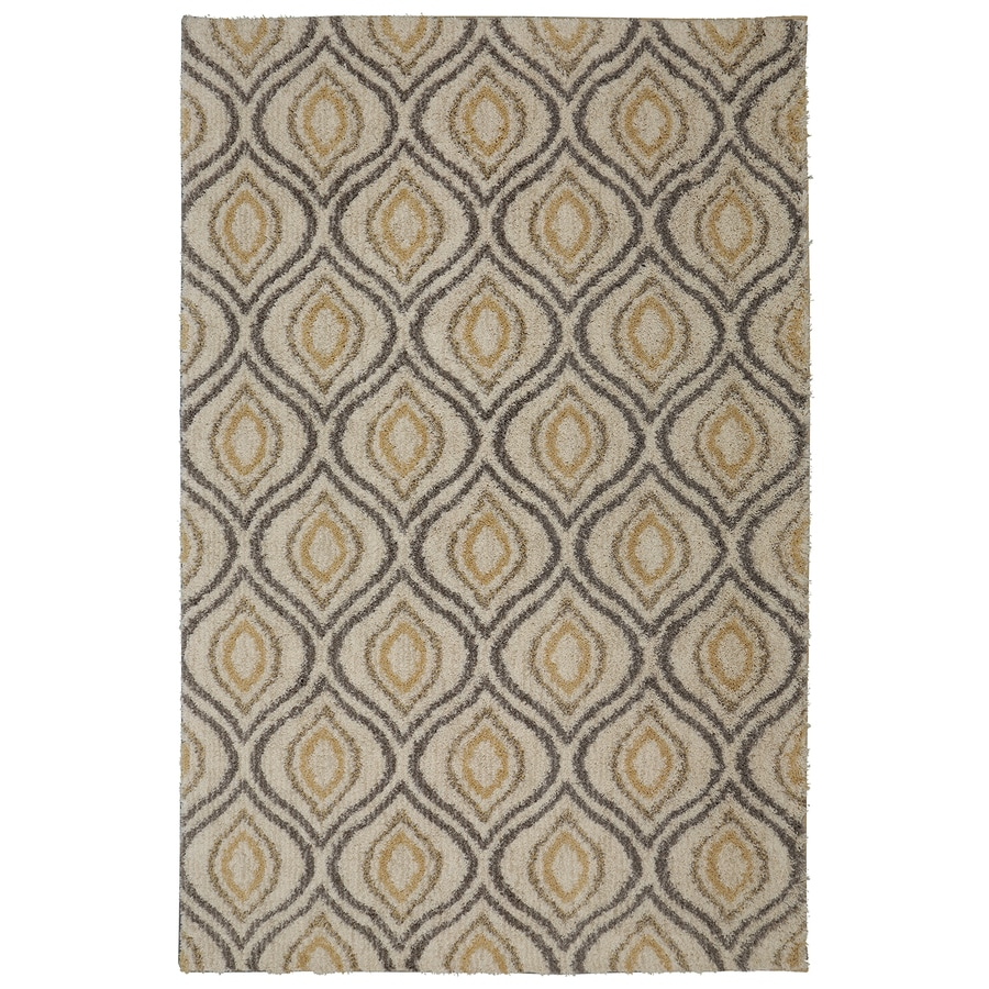 Shop Mohawk Home Ogee Waters Tan Beige Indoor Area Rug