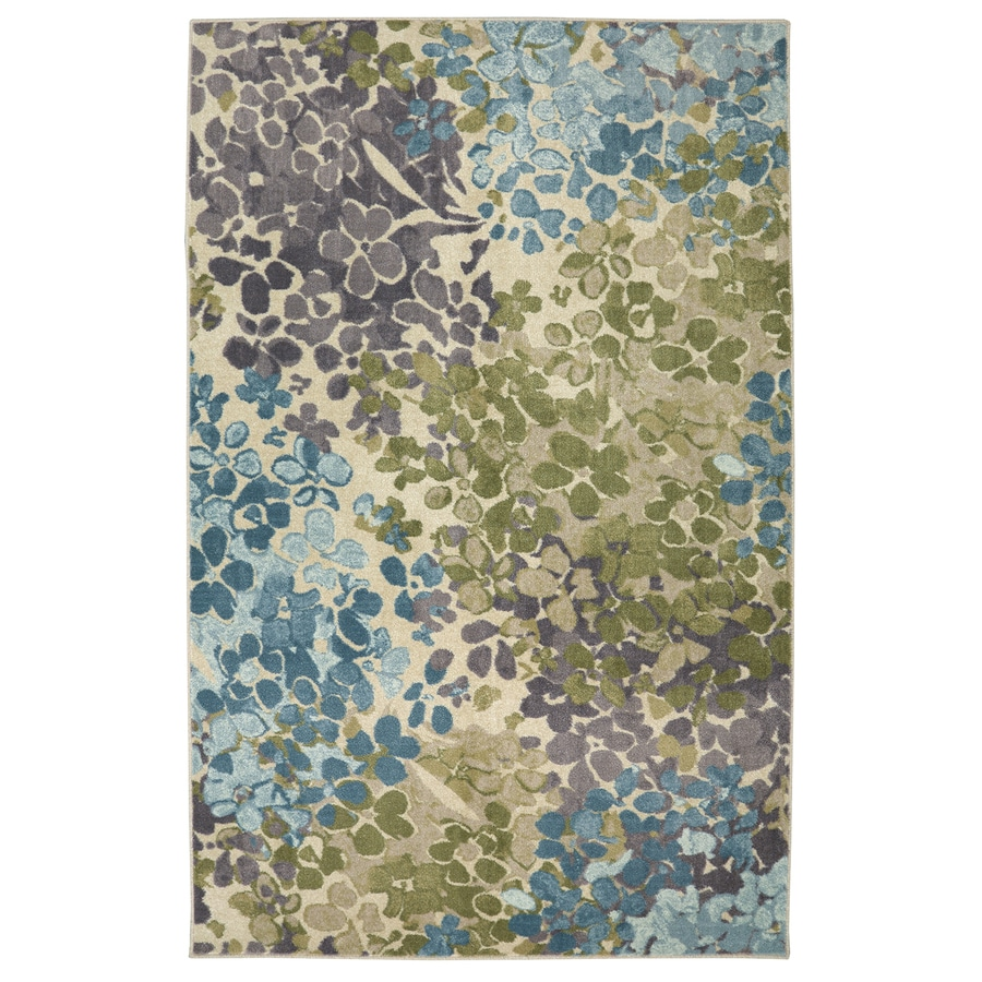 Mohawk Home Strata Multi Rectangular Indoor Machine-Made Area Rug (Common: 5 x 8; Actual: 5-ft W x 8-ft L)