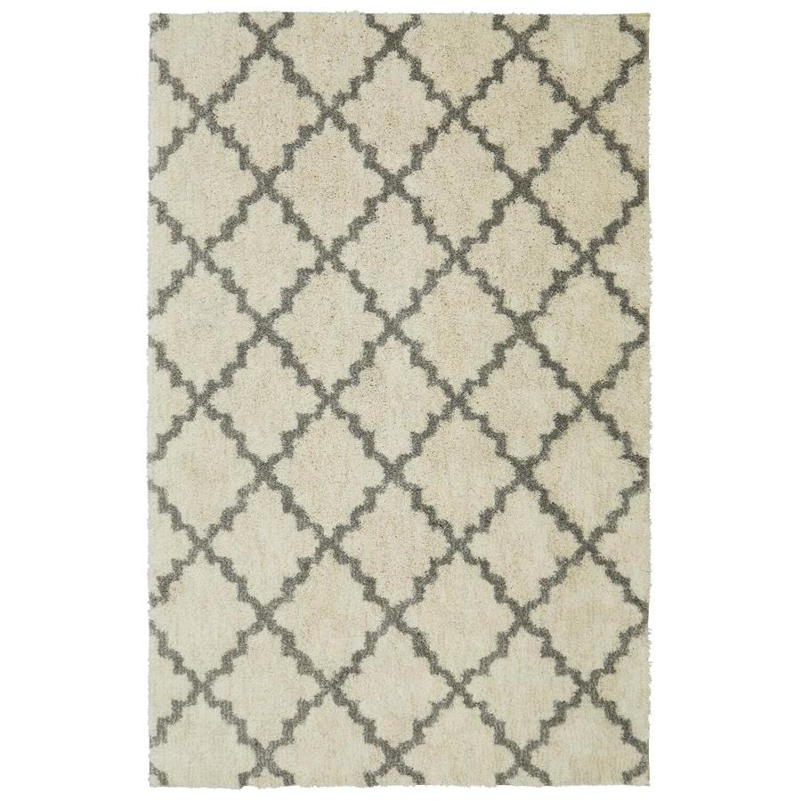 allen + roth Briarwick Gray Rectangular Indoor Area Rug (Common: 5 x 8; Actual: 5-ft W x 8-ft L x 0.5-ft dia)