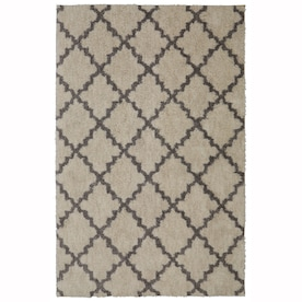 Mohawk Home Wyatt Gray Indoor Area Rug (Common: 8 x 10; Actual: 8-ft W x 10-ft L)