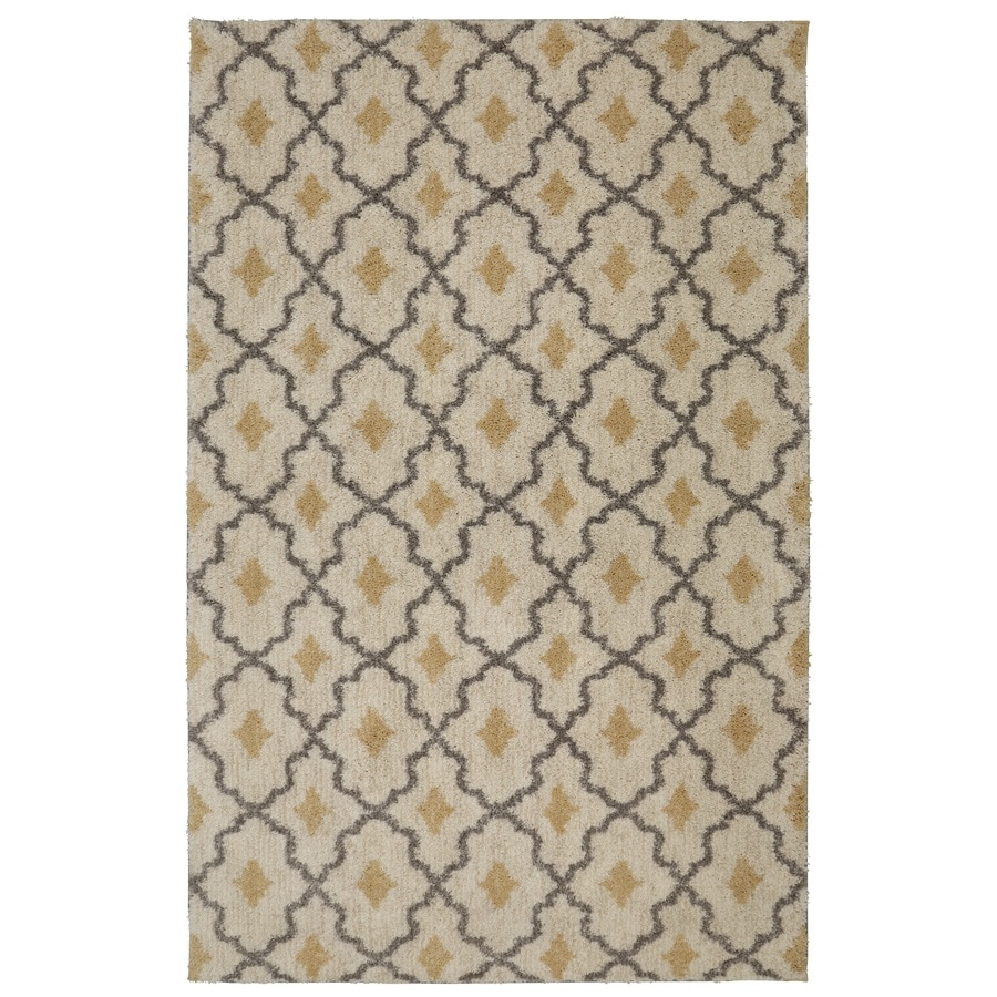 Mohawk Home Laguna Almond Buff Rectangular Indoor Woven Area Rug