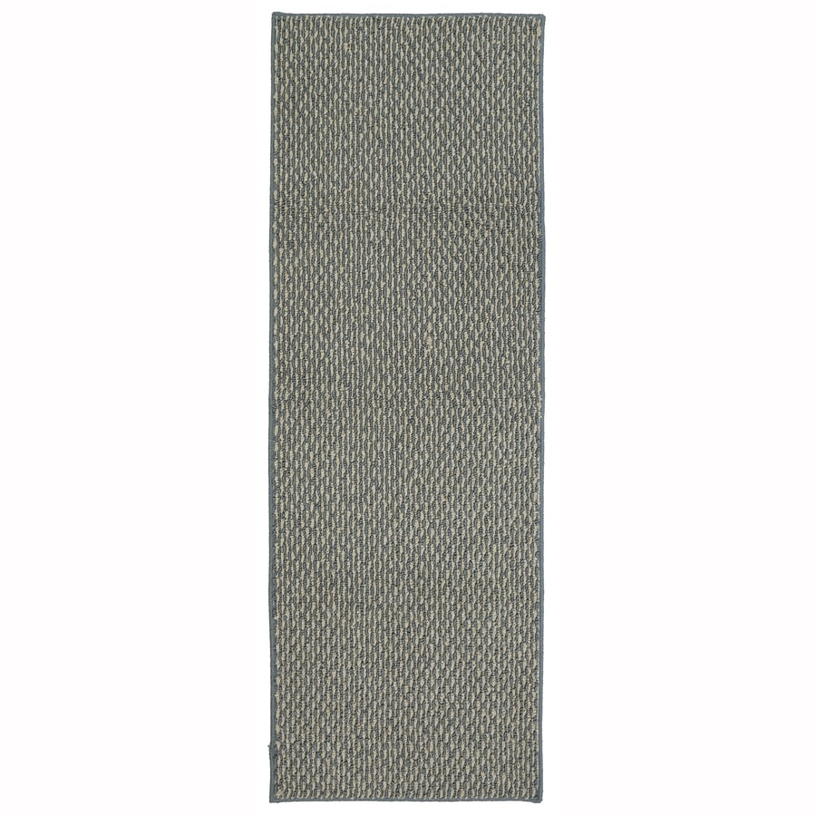 Mohawk Home Calliope Bay Blue Biscuit Rectangular Indoor Tufted Runner (Common: 2 x 5; Actual: 1.75-ft W x 5-ft L x 2-ft Dia)