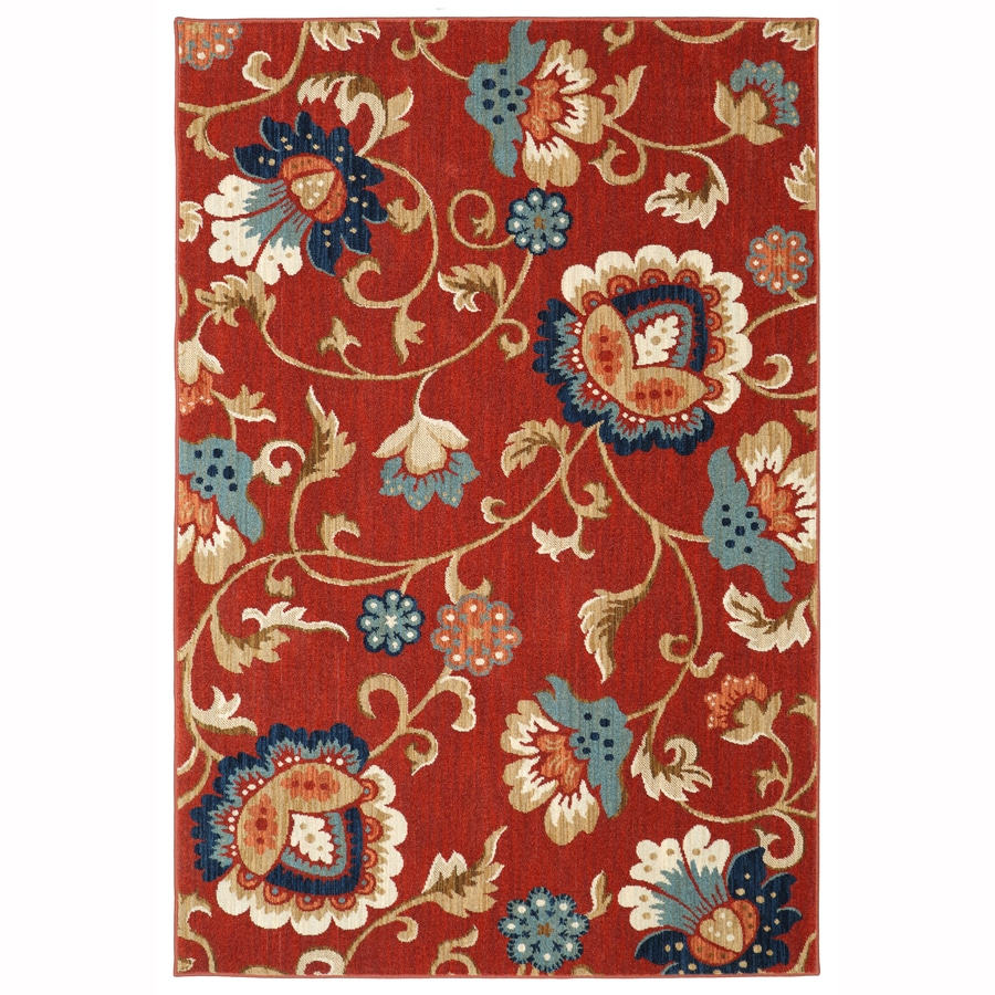 Mohawk Home Graceland Garnet Indoor Inspirational Area Rug Common