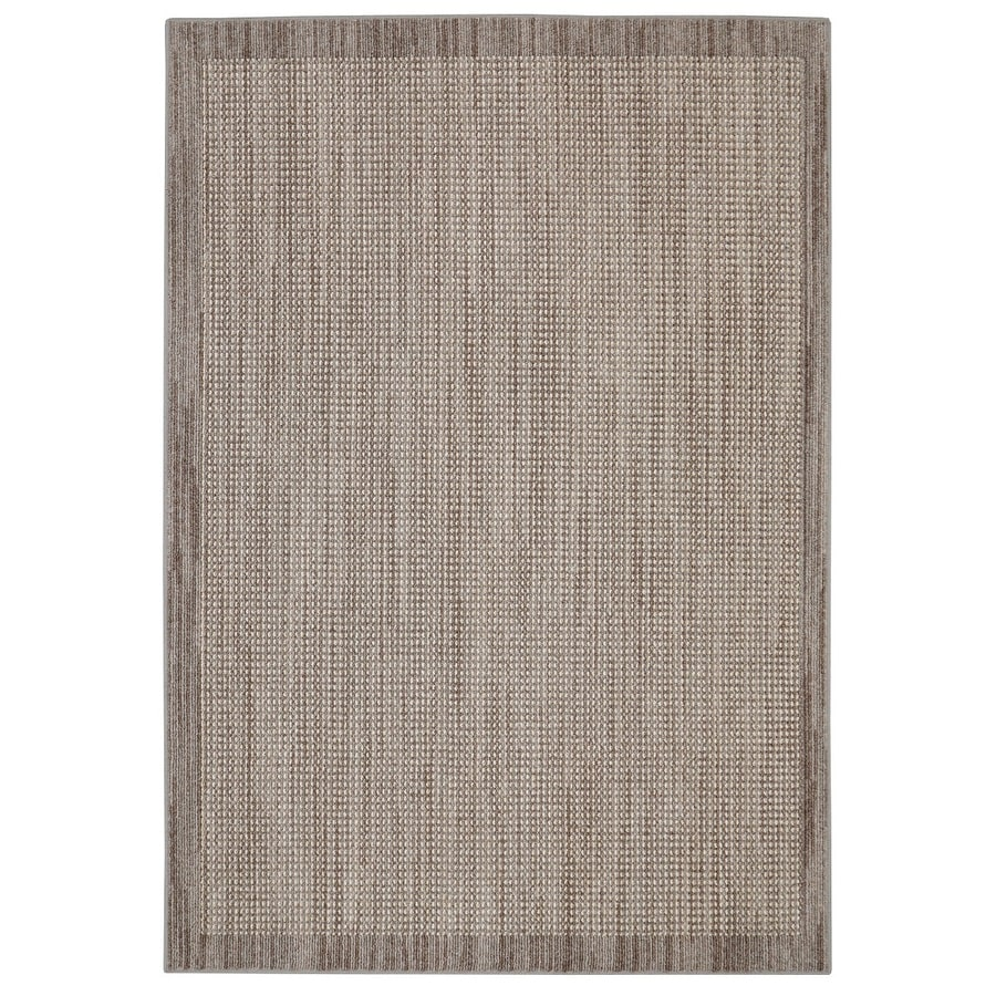 Mohawk Home Topaz Taupe Indoor Inspirational Throw Rug (Common: 2 x 3; Actual: 2-ft W x 3.4-ft L)