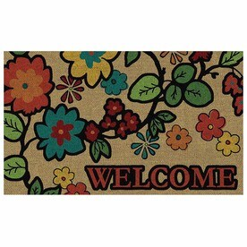 Mohawk Home Garden Impression Vine Rectangular Door Mat (Common: 1 1/2
