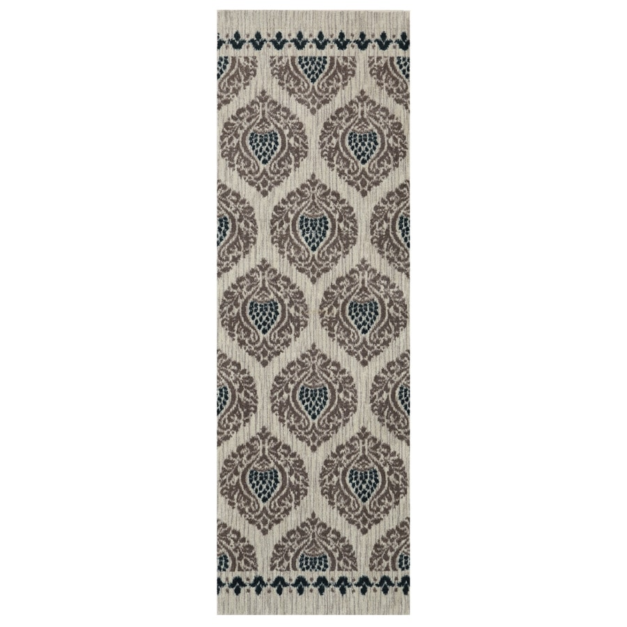 Mohawk Home Bethania Blue Rectangular Indoor Tufted Throw Rug (Common: 2 x 4; Actual: 24-in W x 40-in L)