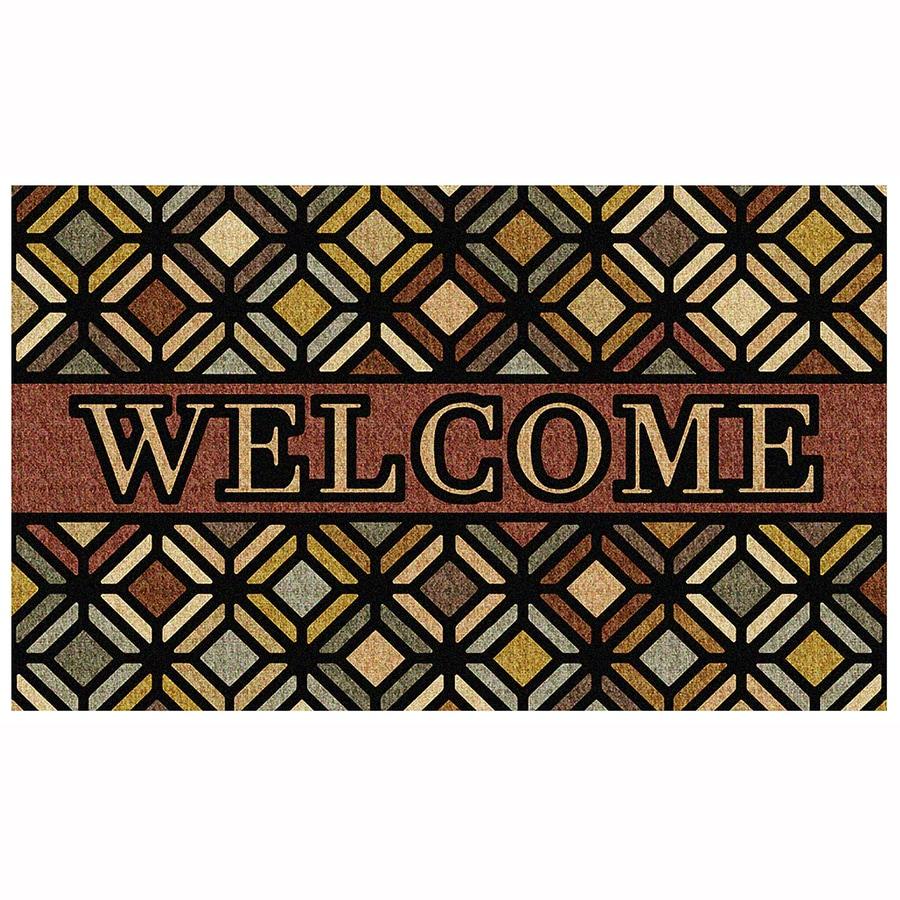Mohawk Home Rectangular Door Mat (Common: 1-1/2-ft x 2-1/2-ft; Actual: 18-in x 30-in)