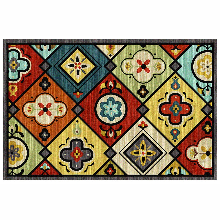 Mohawk Home Rectangular Door Mat (Common: 2-ft x 3-ft;