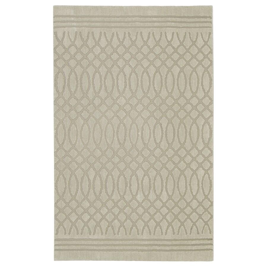 allen + roth Tiber Cream Rectangular Indoor Woven Area Rug (Common: 2 x 8; Actual: 2.1-ft W x 7.1-ft L x 0.5-ft Dia)