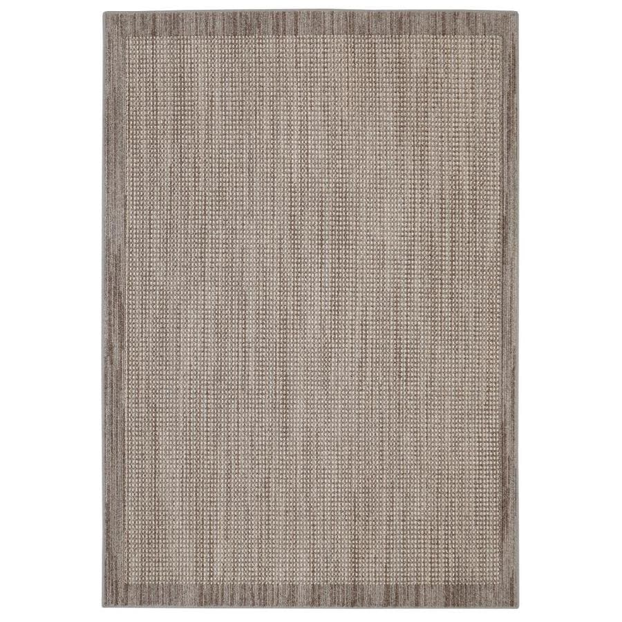 Mohawk Home Topaz Taupe Rectangular Indoor Tufted Area Rug (Common: 10 x 13; Actual: 120-in W x 156-in L)