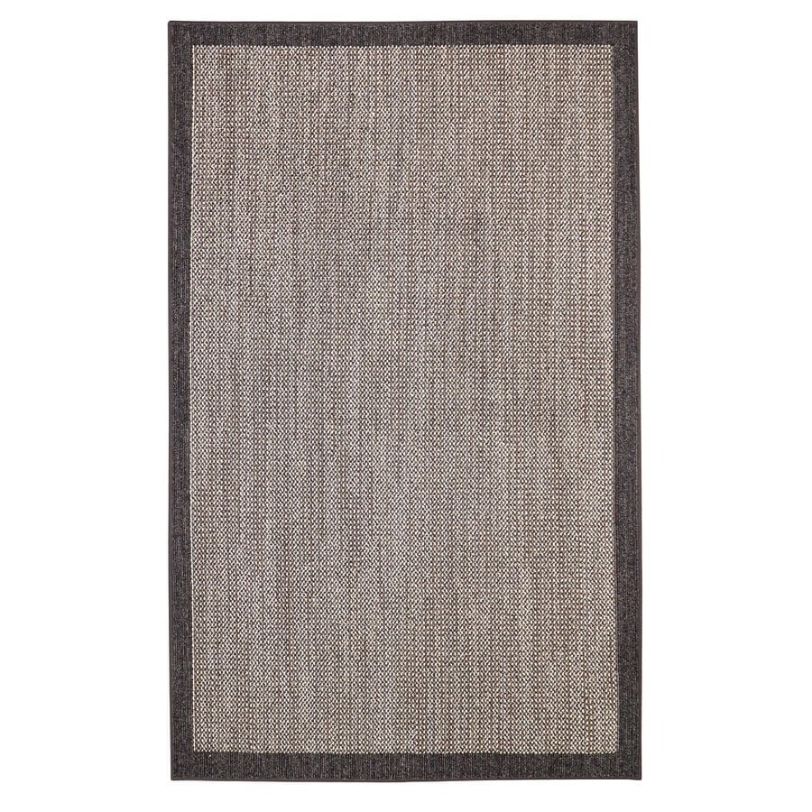 Mohawk Home Topaz Charcoal/Taupe Rectangular Indoor Tufted Area Rug (Common: 10 x 14; Actual: 10-ft W x 14-ft L)