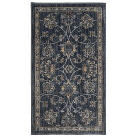 Mohawk Home Ismere Denim Indoor Throw Rug (Common: 2 x 4; Actual: 2.1-ft W x 3.8-ft L)