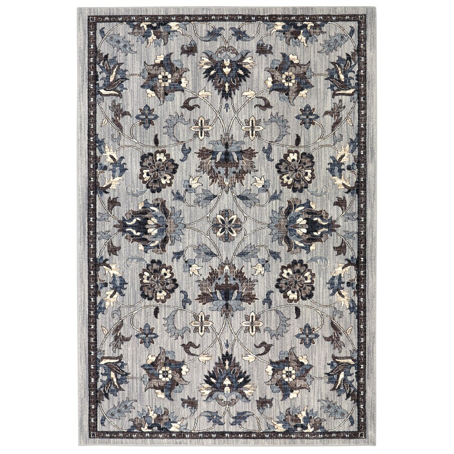 Mohawk Home Ismere Grey Indoor Area Rug Common 8 X 10 Actual 8