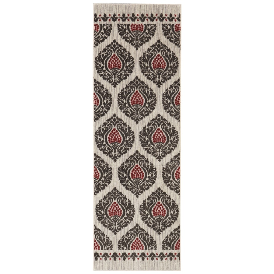 Mohawk Home Bethania Sand Rectangular Indoor Tufted Runner (Common: 2 x 8; Actual: 24-in W x 96-in L)
