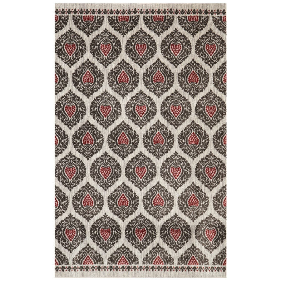 Mohawk Home Bethania Sand Rectangular Indoor Tufted Area Rug (Common: 5 x 8; Actual: 60-in W x 96-in L)