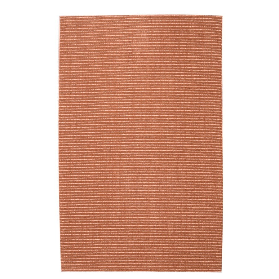 allen + roth Cattar Coral Rectangular Indoor Tufted Area Rug (Common: 8 x 10; Actual: 8-ft W x 10-ft L)