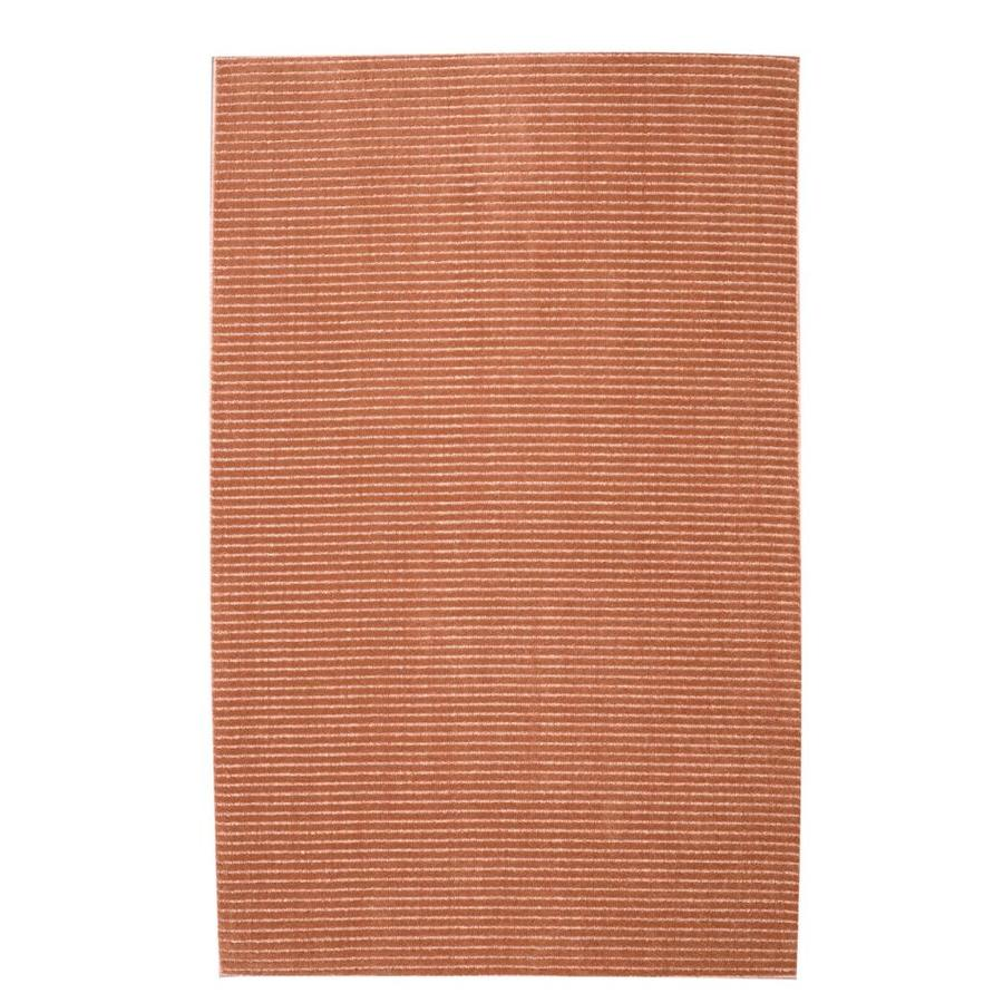 allen + roth Cattar Coral Rectangular Indoor Machine-Made Coastal Area Rug (Common: 10 x 14; Actual: 10-ft W x 14-ft L x 0.5-ft dia)