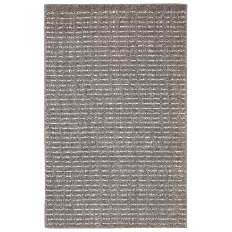 allen + roth Cattar Brindle/Gray Rectangular Indoor Tufted Area Rug (Common: 10 x 14; Actual: 10-ft W x 14-ft L)