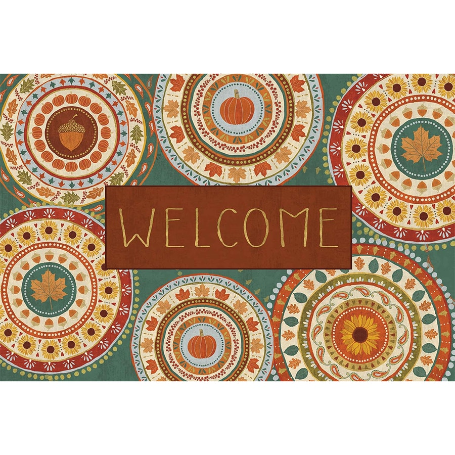Mohawk Home Rectangular Door Mat (Actual: 18-in x 27-in)