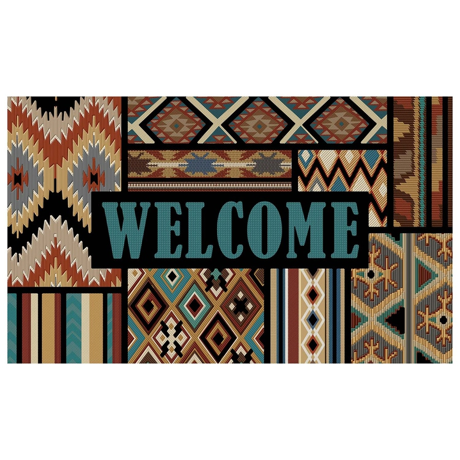 Mohawk Home Rectangular Door Mat (Common: 1-1/2-ft x 2-1/2-ft; Actual: 18-in x 30-in)