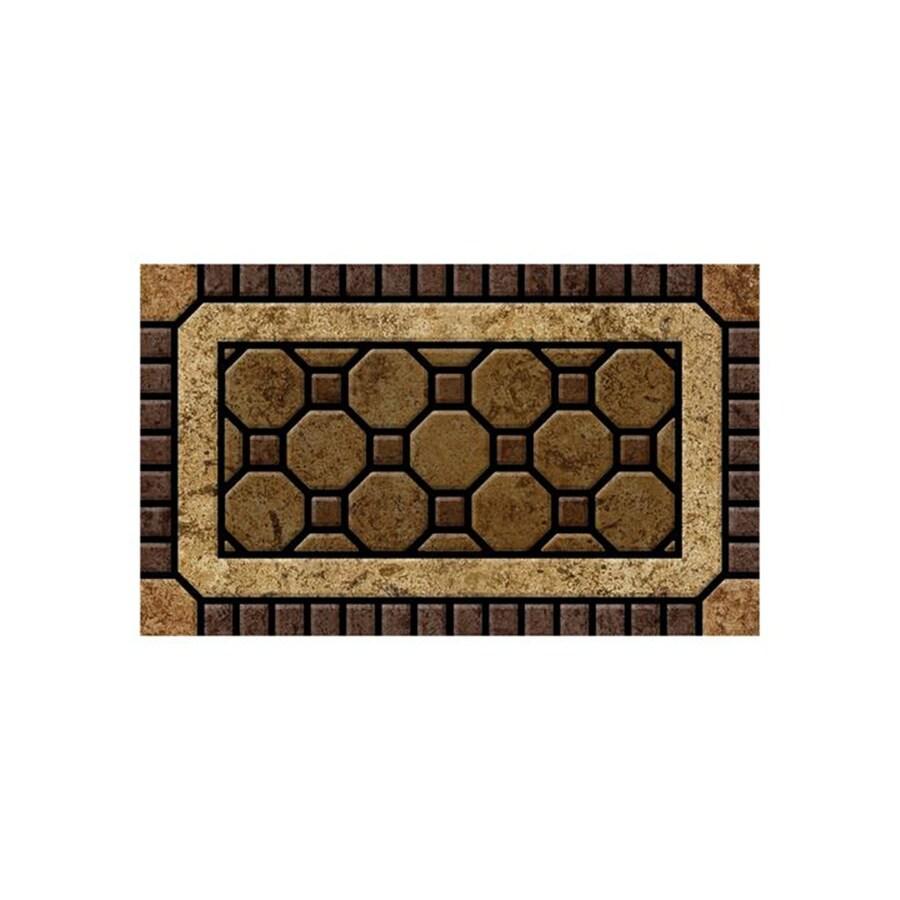 Mohawk Home Rectangular Door Mat (Actual: 18-in x 30-in)
