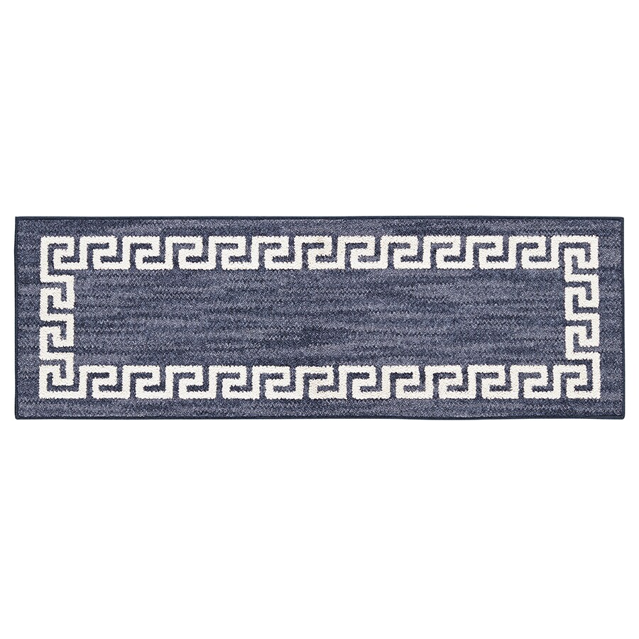 Mohawk Home Hera Indigo Rectangular Indoor Tufted Throw Rug (Common: 2 x 5; Actual: 1.6667-ft W x 5-ft L)