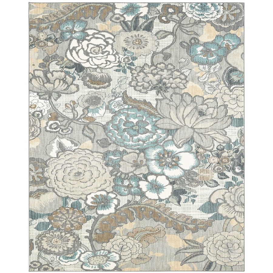 Karastan Serenade Multi Rectangular Indoor Machine-Made Nature Area Rug (Common: 9 x 13; Actual: 9.5-ft W x 12.916-ft L)