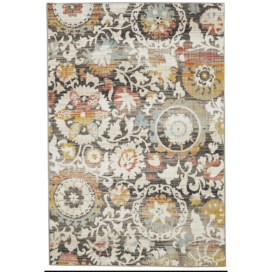 allen + roth Adderly Rectangular Indoor Machine-Made Nature Area Rug (Common: 5 X 7; Actual: 5.25-ft W x 7.8333-ft L x 0.5-ft dia)