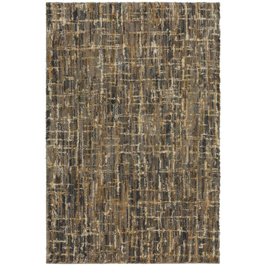 Charming Mohawk Home Sabrina Gray Indoor Inspirational Area Rug (Common: 5 X 7;  Actual