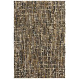 allen roth balleny grey rectangular indoor machinemade area rug common