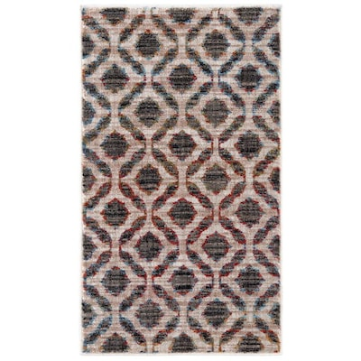 Ameland Multi 25x44 Rectangular Indoor Machine Made Throw Rug Common 2 X 3 Actual 0833 Ft W 6667 L