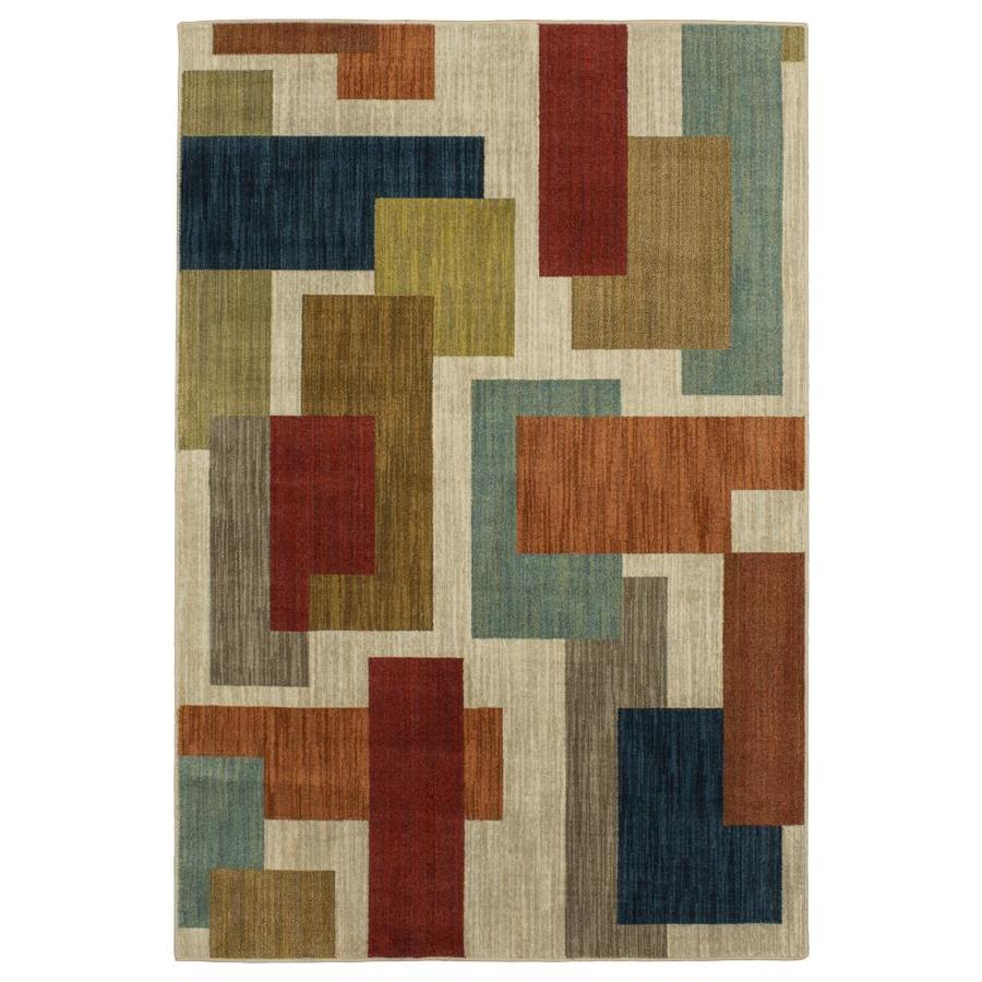 Mohawk Home Novelty Area Rug (Common: 8 x 10; Actual: 8-ft W x 10-ft L)