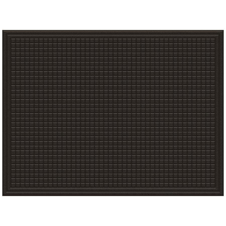 Mohawk Home Utility Bay Brown Rectangular Door Mat Common 3 Ft X 4