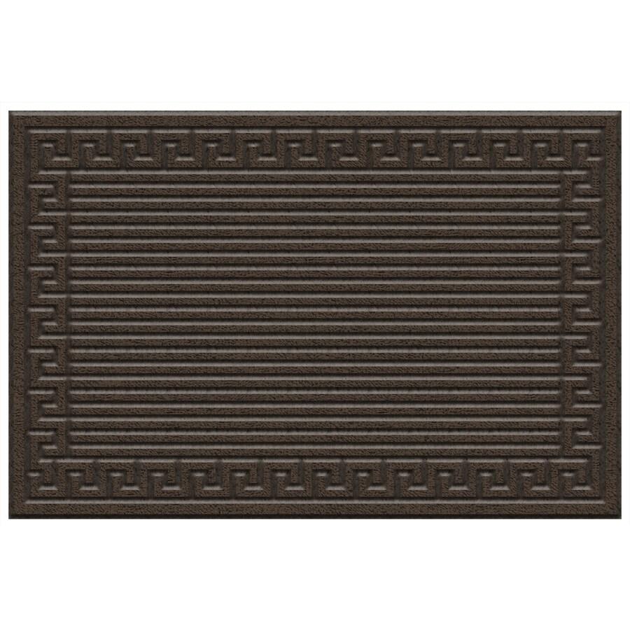 Mohawk Home Brown Rectangular Door Mat (Common: 3-ft x 4-ft; Actual: 48-in x 36-in)