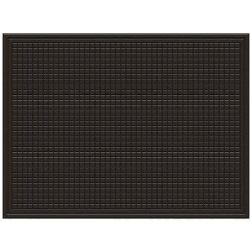 Mohawk Home Doormats Black Rectangular Door Mat Common 3