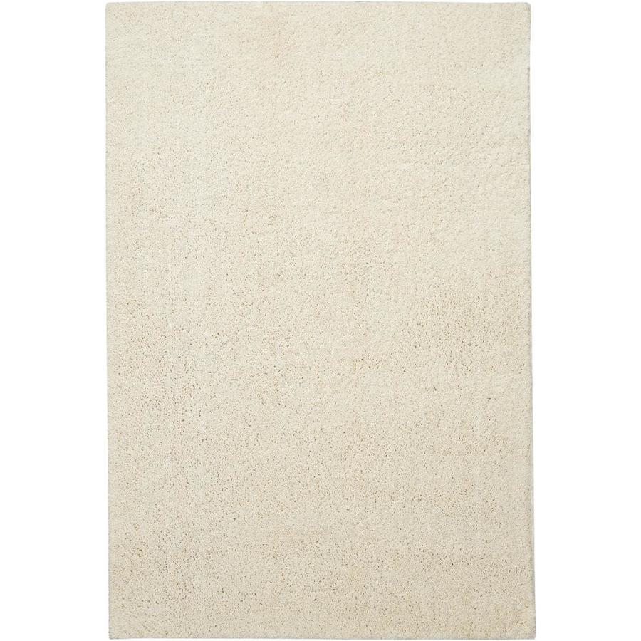Mohawk Home Endearing Shag Ivory Indoor Area Rug Common 10 X 14