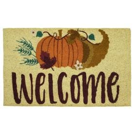 Mohawk Home Seasonal Mats Off White Rectangular Door Mat (Common: 1 1