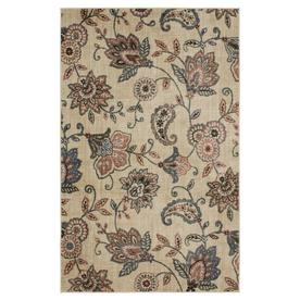 Mohawk Home Blossom Jacobean Garden Rectangular Indoor Machine-Made Area Rug (Common: 8 x 10; Actual: 8-ft W x 10-ft L)