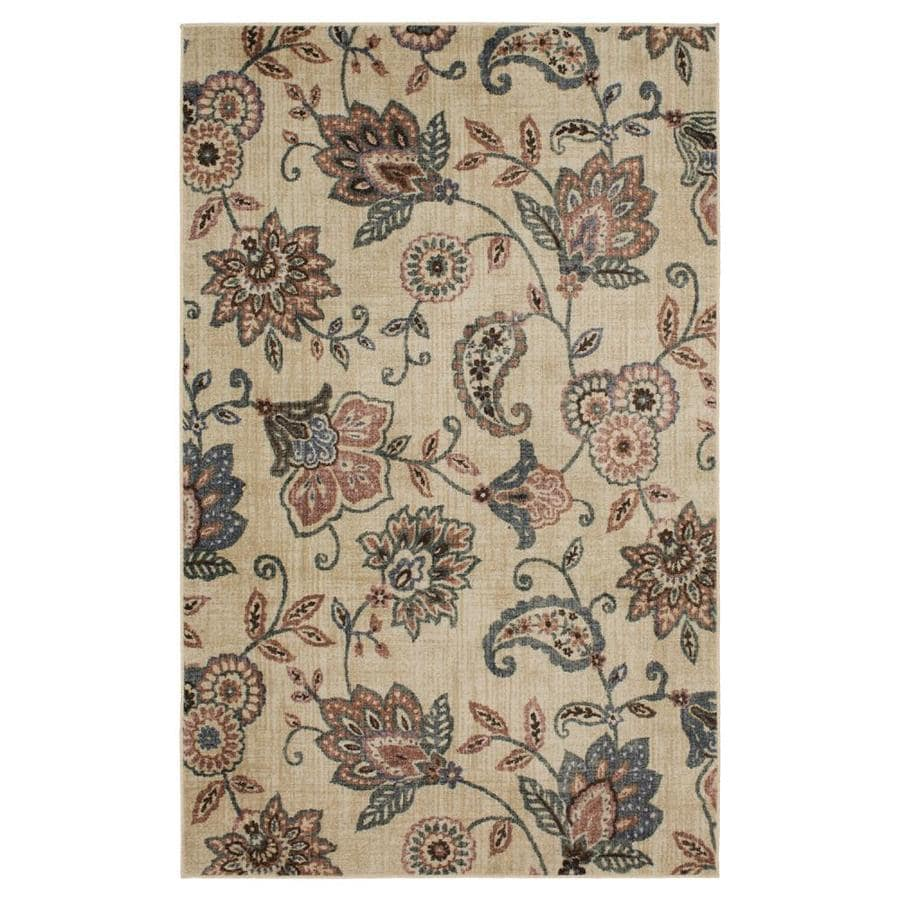 Mohawk Home Blossom Jacobean Garden Indoor Area Rug