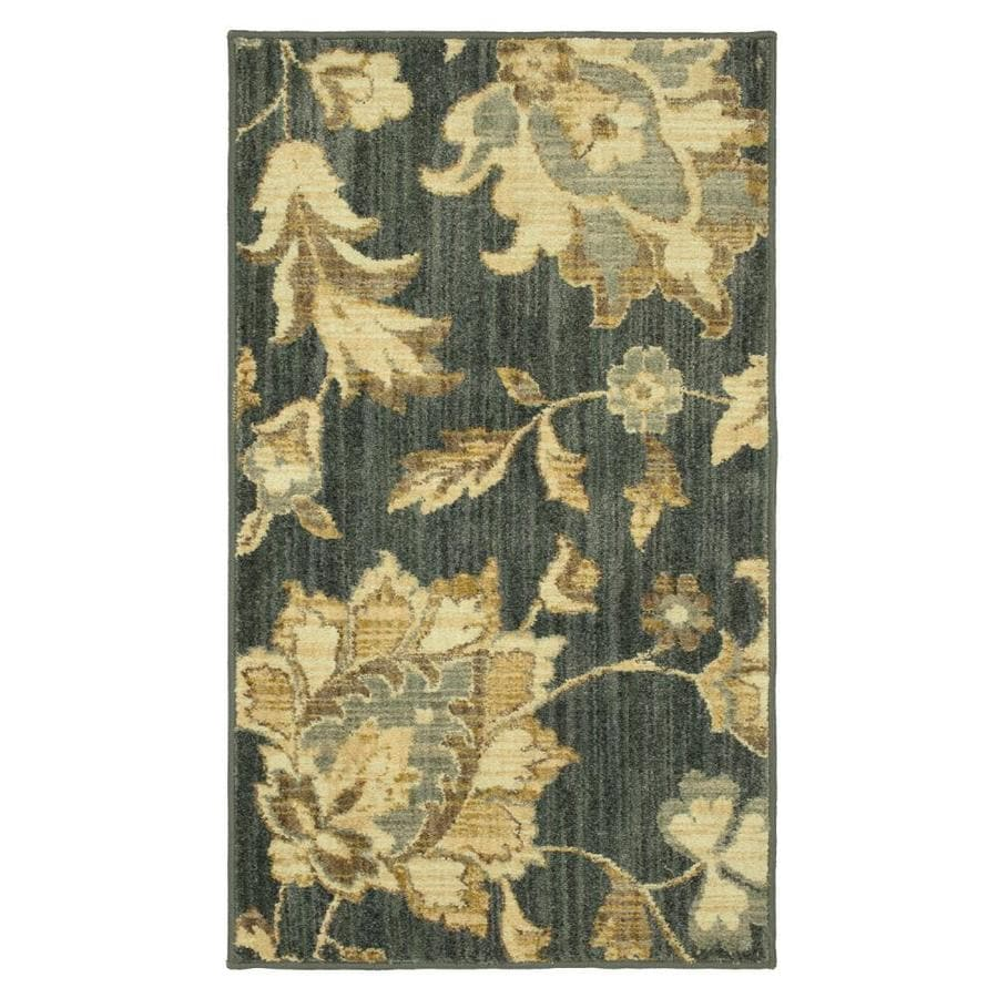 Mohawk Home Brawley Blue Indoor Throw Rug Common 2 X 4