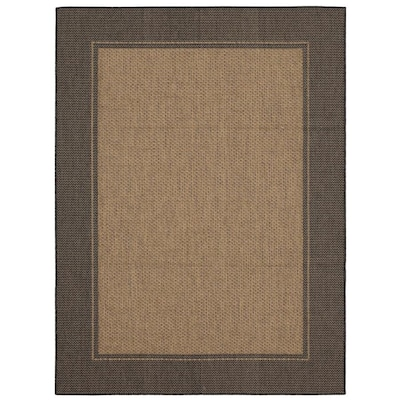 Allen Roth Outdoor Collection Neutral Rectangular Indoor