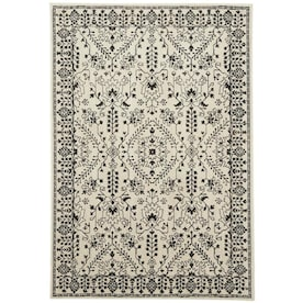 Mohawk Home Estelle Oyster Indoor Area Rug (Common: 8 x 10; Actual: 8-ft W x 10-ft L)