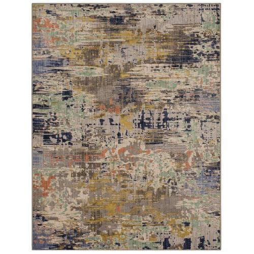 Scott Living Talbert Dove Indoor Farmhouse Cottage Area Rug Common 8 X 10 Actual Ft W L At Lowes