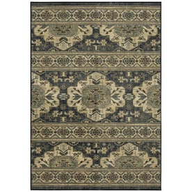 Mohawk Home Julian Blue Indoor Area Rug (Common: 8 x 10; Actual: 8-ft W x 10-ft L)