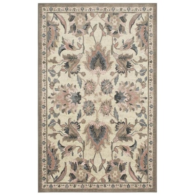 Cayuga Blush Rectangular Indoor Machine Made French Country Area Rug Common 10 X 14 Actual Ft W L