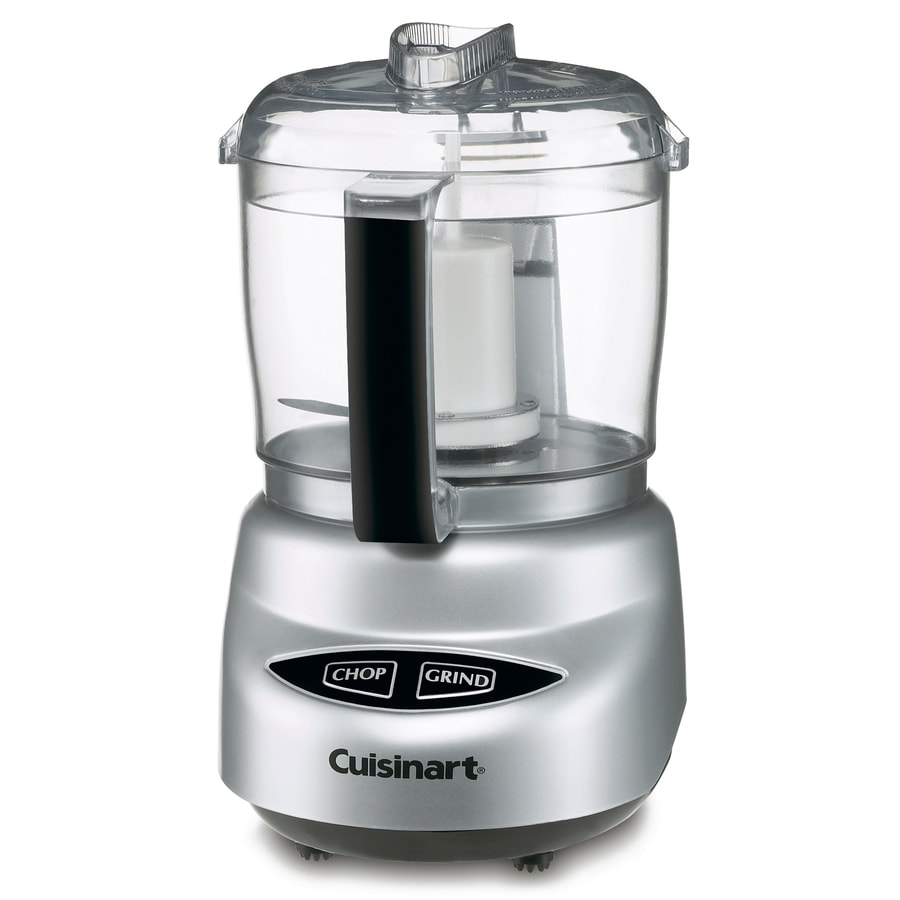 Cuisinart 3-Cup 600-Watt Brushed Chrome 1-Blade Mini Food Chopper