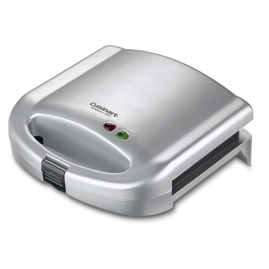 Cuisinart 8.0-in L x 8.0-in W Non-Stick Contact Grill