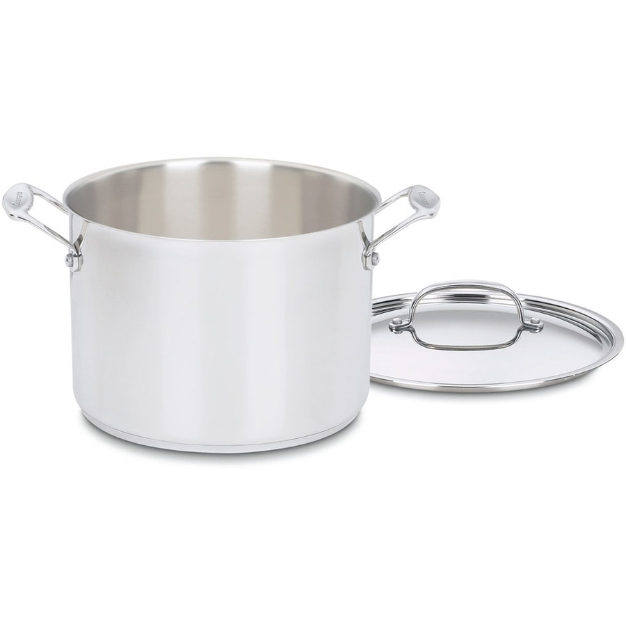 Cuisinart Chef's Classic 8-Quart Stainless Steel Stock Pot with Lid